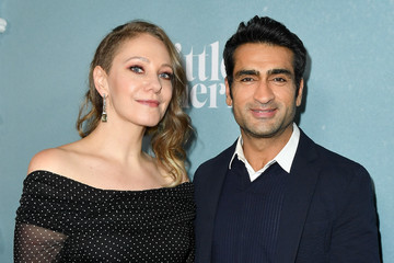 "Kumail Nanjiani Emily V. Gordon Premiere Of Apple TV+'s ""Little America"" - Red Carpet"