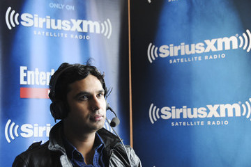 Kunal Nayyar SiriusXM's Entertainment Weekly Radio Channel Broadcasts From Comic-Con 2015