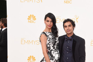 Kunal Nayyar Arrivals at the 66th Annual Primetime Emmy Awards — Part 2