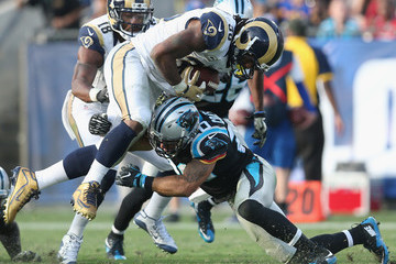 Kurt Coleman Carolina Panthers v Los Angeles Rams