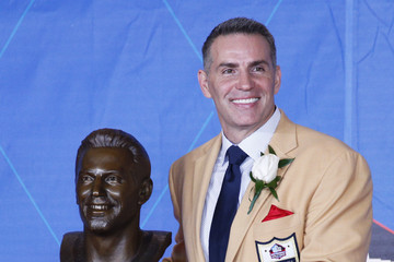 Kurt Warner Hall of Fame Enshrinement Ceremony