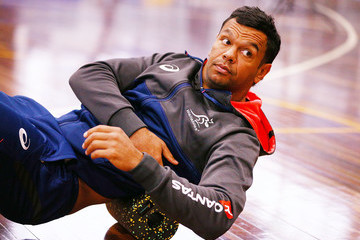 Kurtley Beale Wallabies Recovery Session