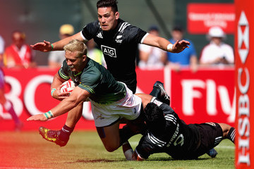 Kyle Brown Emirates Dubai Rugby Sevens: HSBC Sevens World Series - Day Three