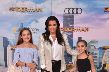 Kyle Richards Premiere of Columbia Pictures' 'Spider-Man: Homecoming' - Arrivals