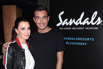 Kyle Richards Sandals Resorts Hosts Private Event at Hyde Staples Center for Ed Sheeran Concert