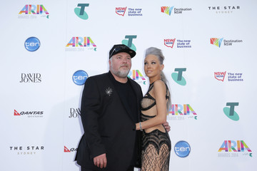 Kyle Sandilands Arrivals at the 28th Annual ARIA Awards