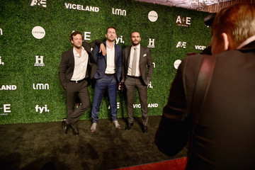 Kyle Schmid Juan Pablo Raba 2017 A+E Networks Upfront at Jazz at Lincoln Center's Frederick P. Rose Hall