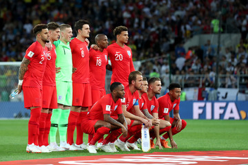 Kyle Walker Raheem Sterling Colombia vs. England: Round of 16 - 2018 FIFA World Cup Russia