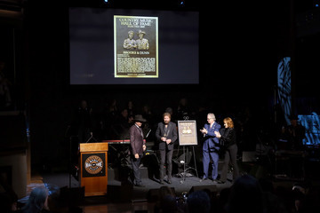 Kyle Young 2019 Country Music Hall of Fame Medallion Ceremony
