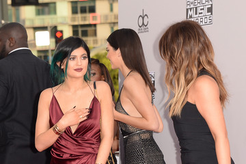 Kylie Jenner Arrivals at the American Music Awards — Part 3
