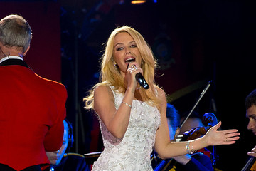 Kylie Minogue The Queens 90th Birthday Celebrations at Windsor - Final Night