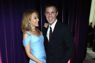 Kylie Minogue Arrivals at the Elton John AIDS Foundation Oscars Viewing Party — Part 2