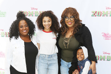 Kym Whitley Joshua Kaleb Whitley Premiere for Disney Channel's 'Zombies' - Arrivals