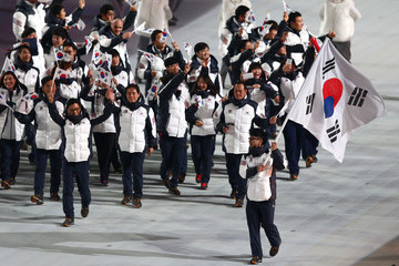 Kyou-Hyuk Lee Winter Olympic Games Opening Ceremony