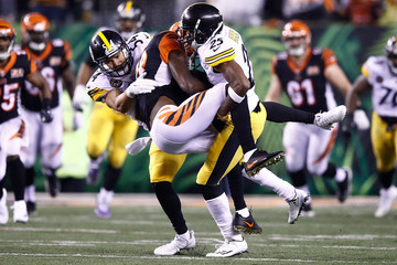 L.J. Fort Pittsburgh Steelers v Cincinnati Bengals