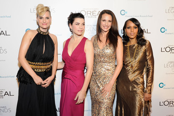 Andie MacDowell L'Oreal Legends Gala To Benefit Ovarian Cancer Research Fund