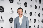 Ian Bohen arrives at the LA Art Show 2019 Opening Night Gala at the Los Angeles Convention Center on January 23, 2019 in Los Angeles, California.