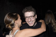Natalie Portman and Nicholas Britell attend LA Dance Project's 2019 Fundraising Gala on October 19, 2019 in Los Angeles, California.