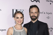 Natalie Portman and Benjamin Millepied attend LA Dance Project's 2019 Fundraising Gala on October 19, 2019 in Los Angeles, California.