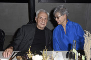 Frank Gehry and Berta Isabel Aguilera attend LA Dance Project's 2019 Fundraising Gala on October 19, 2019 in Los Angeles, California.