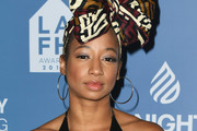 Monique Coleman attends LA Family Housing Annual LAFH Awards And Fundraiser Celebration at The Lot on April 25, 2019 in West Hollywood, California.