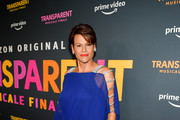 """Alexandra Billings attend the LA premiere of Amazon's """"Transparent Musicale Finale"""" at Regal LA Live on September 13, 2019 in Los Angeles, California."""