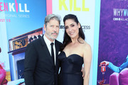 "Anthony Michael Jones and Alicia Coppola attend the LA Premiere of CBS All Access' ""Why Women Kill"" at Wallis Annenberg Center for the Performing Arts on August 07, 2019 in Beverly Hills, California."