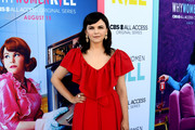 """Ginnifer Goodwin arrives at the premiere of CBS All Access' """"Why Women Kill"""" at the Wallis Annenberg Center for the Performing Arts on August 07, 2019 in Beverly Hills, California."""