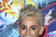"Frankie Grande attends the LA Premiere Of Cirque Du Soleil's ""Volta"" at Dodger Stadium on January 21, 2020 in Los Angeles, California."