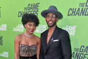 Jada Crawley and Chris Paul arrive at the LA Premiere of 'The Game Changers' at ArcLight Hollywood on September 04, 2019 in Hollywood, California.