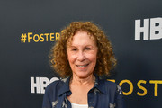 """Rhea Pearlman attend the LA premiere of HBO's """"Foster"""" at Linwood Dunn Theater on April 22, 2019 in Los Angeles, California."""