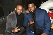 "Mike Epps and Craig Robinson attend the LA Premiere Of Netflix's ""Dolemite Is My Name"" after party at Baltaire restaurant, Brentwood on September 28, 2019 in Los Angeles, California."