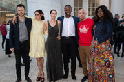 """Ronan Raftery, Mishel Prada, Emma Greenwell, Adrian Lester, Daniyar and Yetide Badaki attend the after party for the LA premiere of Starz's """"The Rook"""" on June 17, 2019 in Los Angeles, California."""