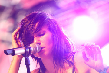 LIGHTS 2015 Coachella Valley Music And Arts Festival - Weekend 1 - Day 2