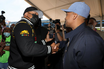 LL Cool J The Universal Hip Hop Museum Groundbreaking Ceremony Held In Bronx Point