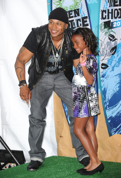 Photo of LL Cool J & his  Daughter  Nina Simone Smith