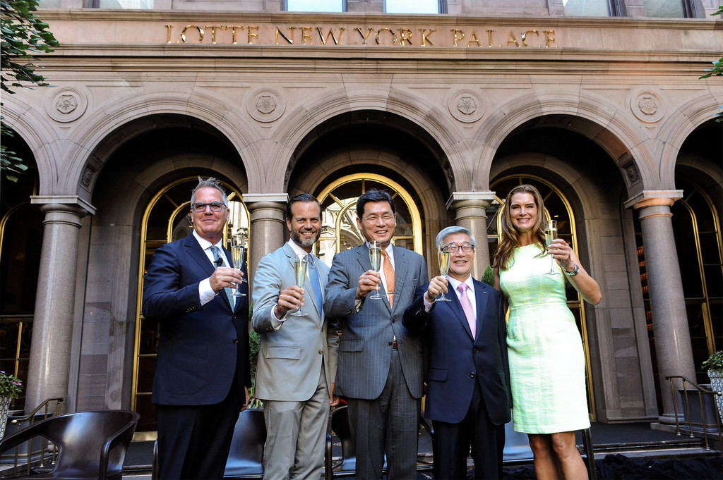 Fred Dixon Photos - LOTTE New York Palace Unveiling Ceremony - Zimbio