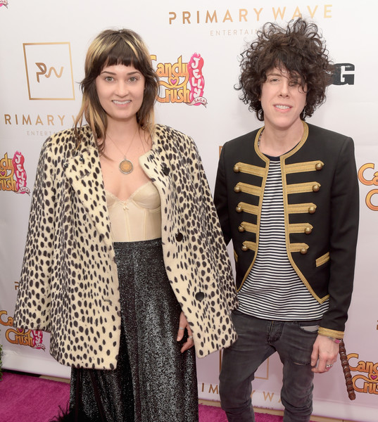 Primary Wave 10th Annual Pre-Grammy Party [hair,clothing,outerwear,fashion,hairstyle,event,fashion design,blazer,fur,jacket,lauren ruth ward,lp,west hollywood,california,l,the london west hollywood,primary wave 10th annual pre-grammy party]
