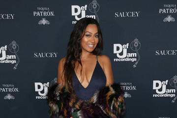 La La Anthony The 2017 Def Jam Holiday Party - Red Carpet