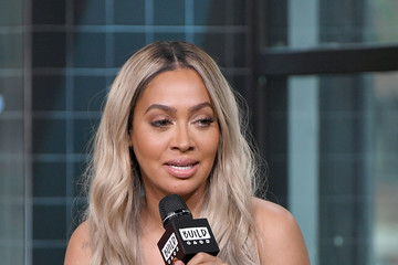La La Anthony Celebrities Visit Build - June 27, 2018