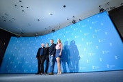 (L-R) Andre Dussollier, Yvonne Catterfeld, Christophe Gans and Lea Seydoux attend 'La belle et la bete' (Die Schoene und das Biest) photocall during 64th Berlinale International Film Festival at Grand Hyatt Hotel on February 14, 2014 in Berlin, Germany.