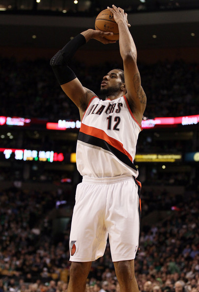 LaMarcus Aldridge - Portland Trail Blazers v Boston Celtics