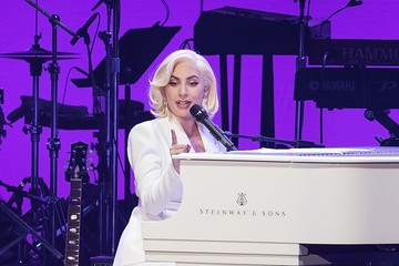 Lady Gaga Ford Hosts Hurricane Harvey First Responders at One America Concert