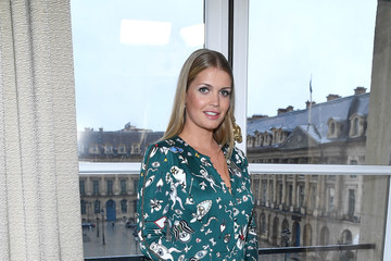 Lady Kitty Spencer Schiaparelli: Front Row - Paris Fashion Week - Haute Couture Spring Summer 2018