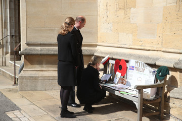 Lady Louise Windsor Britain Continues Period Of National Mourning Following The Death Of Prince Philip, Duke Of Edinburgh