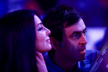 Laila Rouass 2016 William Hill PDC World Darts Championships - Day Twelve