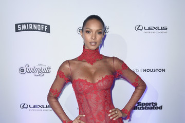 Lais Ribeiro Sports Illustrated Swimsuit 2017 NYC Launch Event