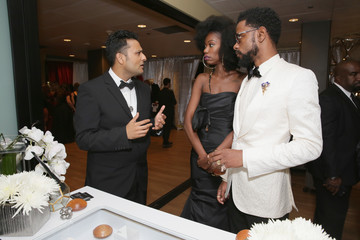 Lakeith Stanfield Backstage Creations Giving Suite At The 70th Emmy Awards - Day 2