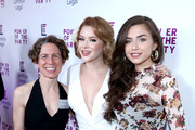 (L-R) Lambda Legal CEO Rachel B. Tiven, actress Renee Olstead, and actress Victoria Konefal attend the Lambda Legal 2018 West Coast Liberty Awards at the SLS Hotel on June 7, 2018 in Beverly Hills, California.