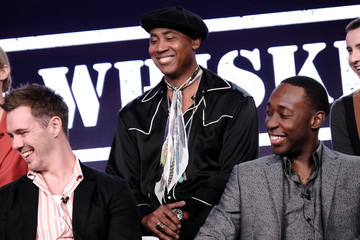 Lamont Thompson Sam Keeley ViacomCBS Winter TCA Tour